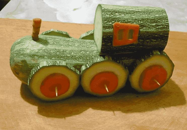 Осенний паровоз