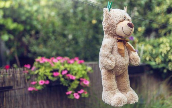 Медвежонок на сушке