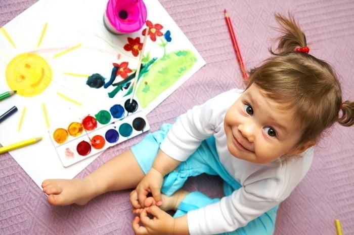Творческие занятия с детьми в саду